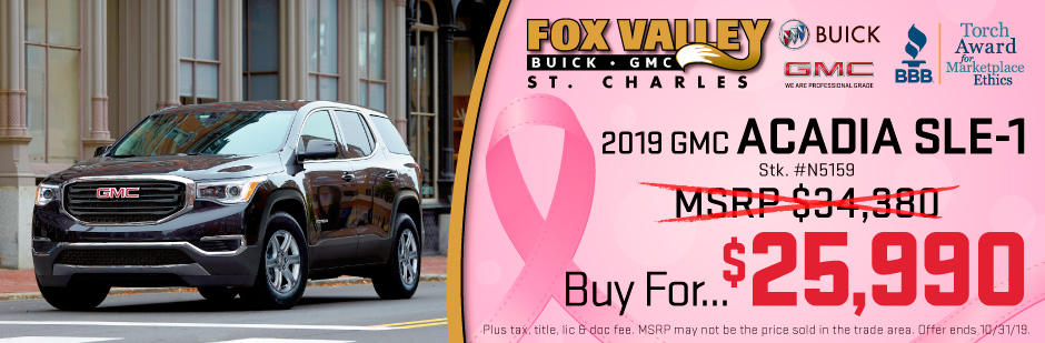 Fox Valley Gmc >> Fox Valley Buick Gmc 1421 E Main Street St Charles Il Auto