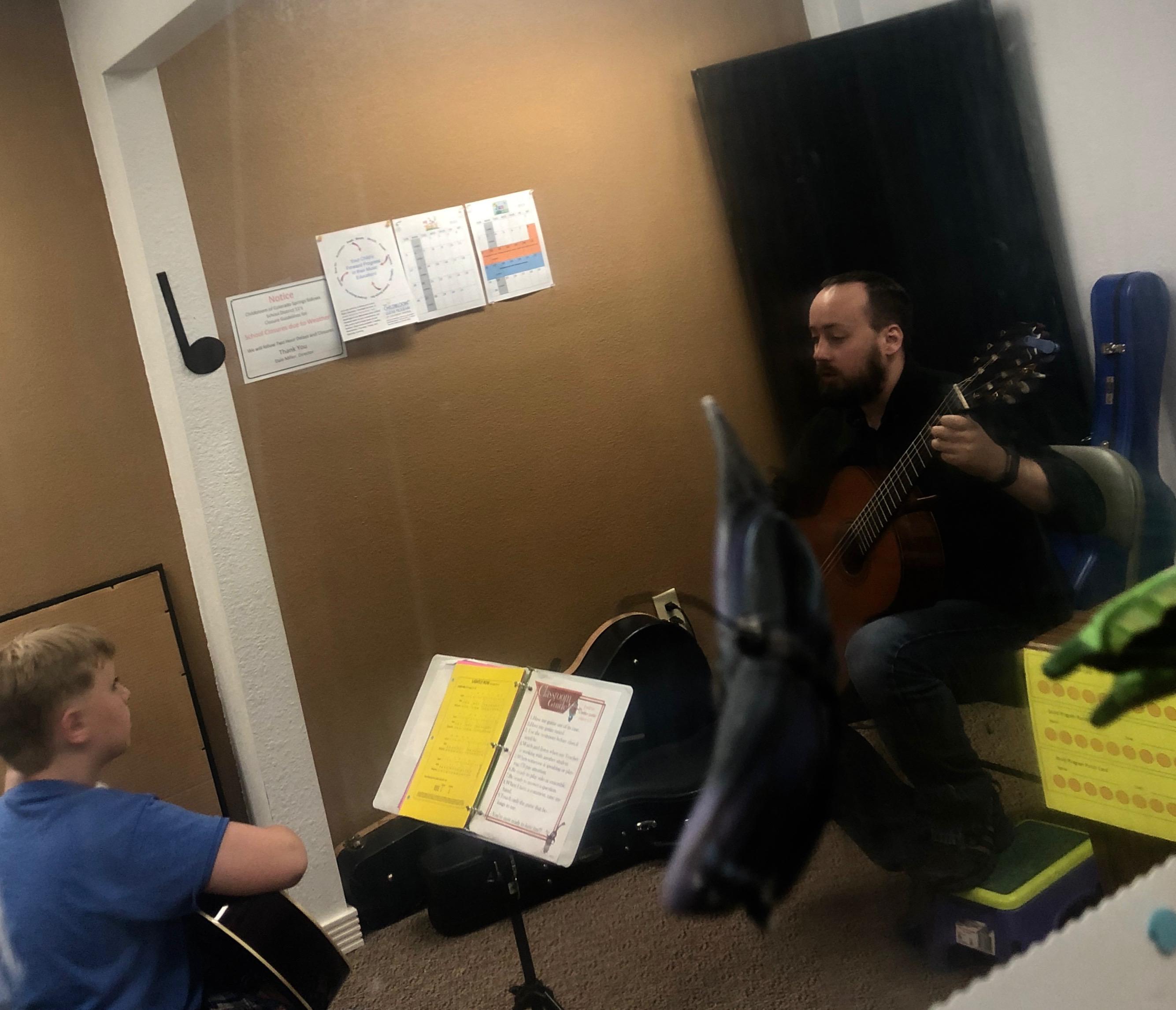 The Childbloom Guitar Program of Colorado Springs image 1