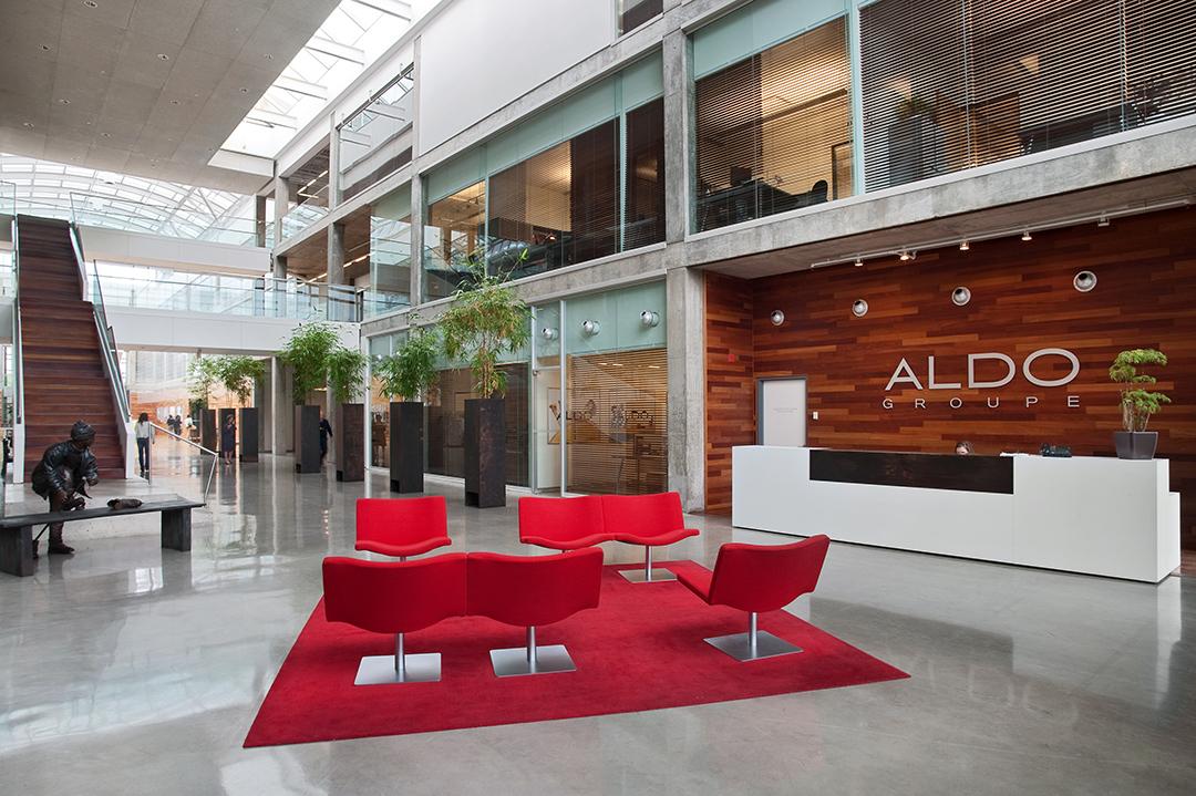 Aedifica à Montréal: Workplace Environment - Aldo, Montréal