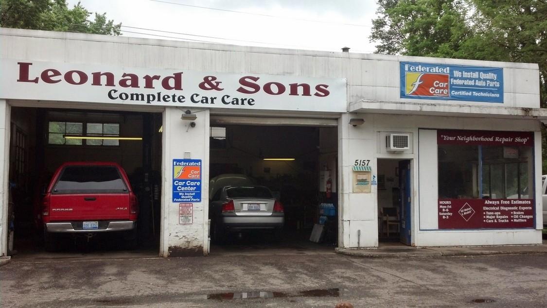 Leonard & Sons Complete Car Care image 1