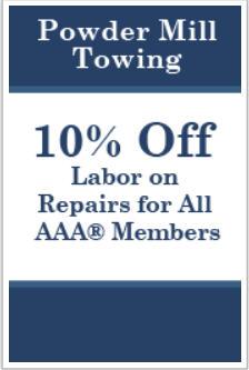 Powder Mill Towing image 0