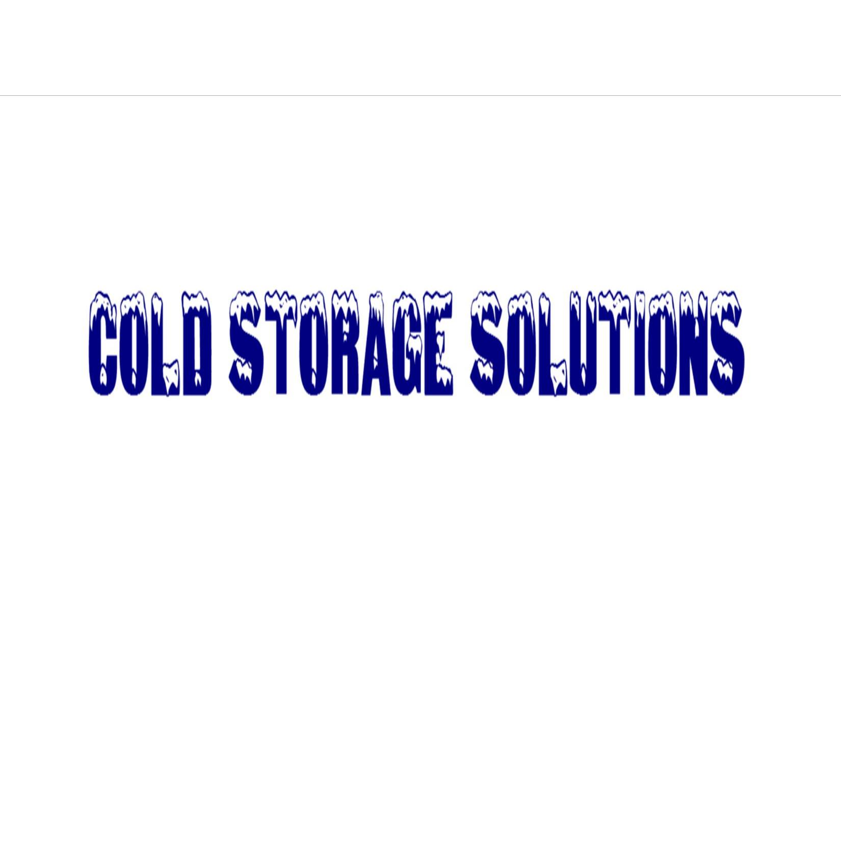 Cold Storage Solutions formely known as Ice Cold Storage