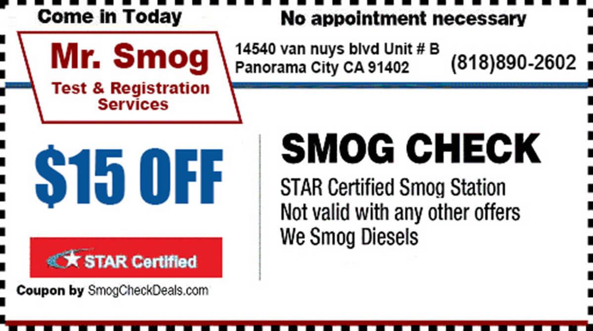 Mr Smog and Registration Services image 0