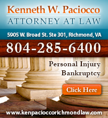 Kenneth W Paciocco Attorney at Law - ad image