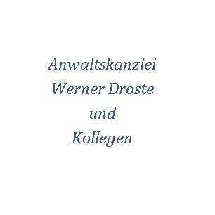 Logo von Anwaltskanzlei Werner Droste und Kollegen