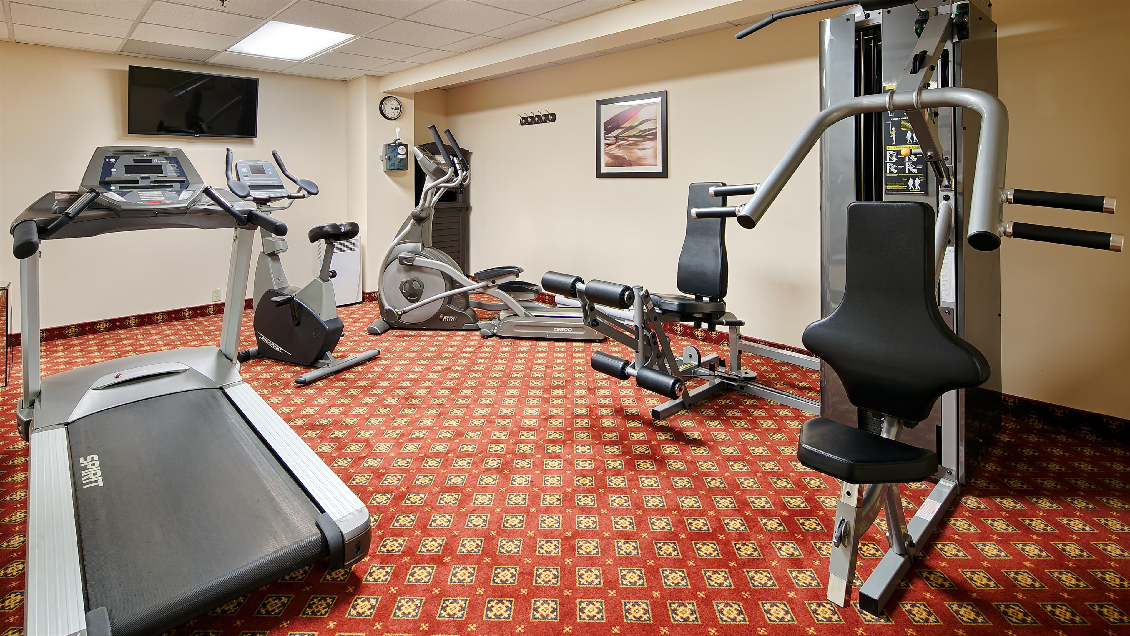 Best Western Plus Gatineau-Ottawa à Gatineau: Fitness Center