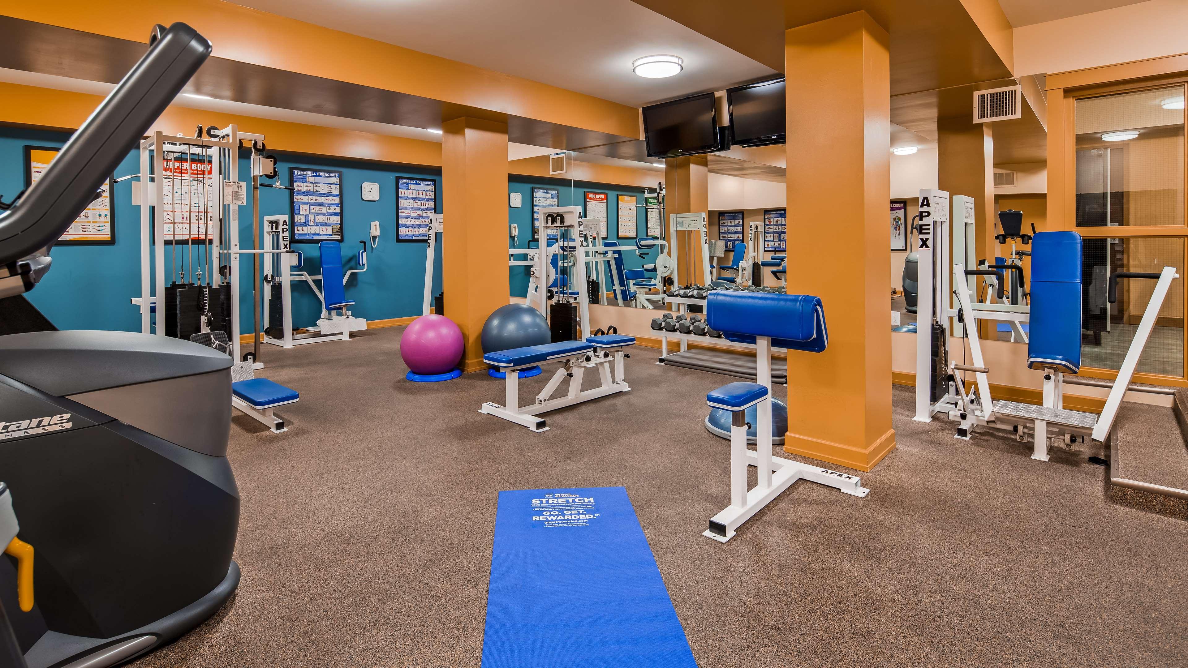 Best Western Plus Barclay Hotel in Port Alberni: Fitness Centre