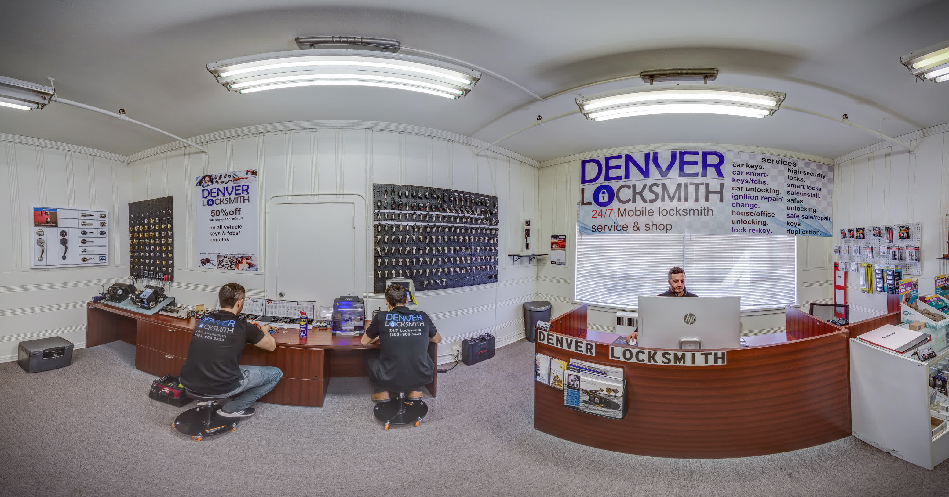 Denver Locksmith shop and mobile service