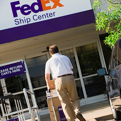 FedEx Ship Center - ad image
