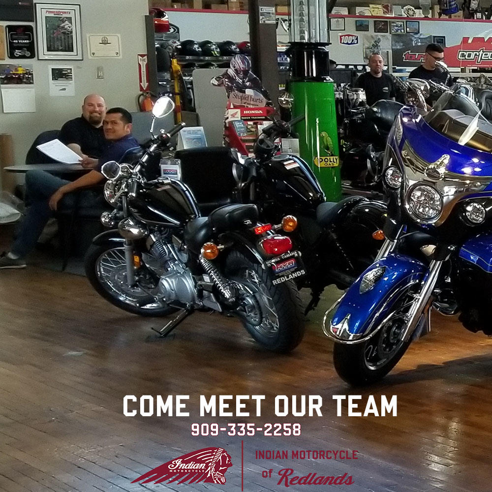 INDIAN MOTORCYCLE REDLANDS image 3