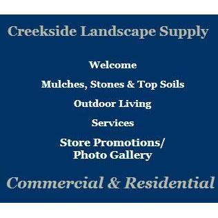 Creekside Landscape Supply - Greensburg, PA - Garden Centers