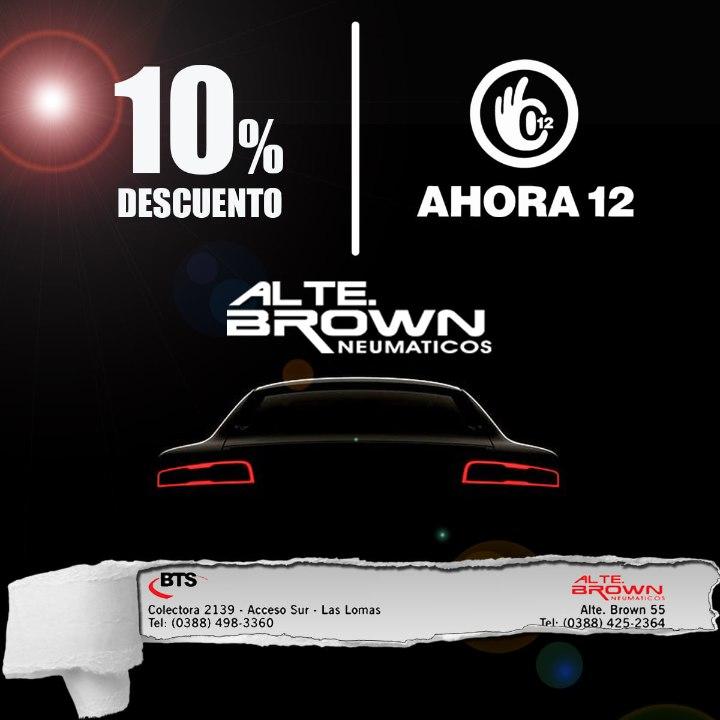 Neumáticos Alte Brown
