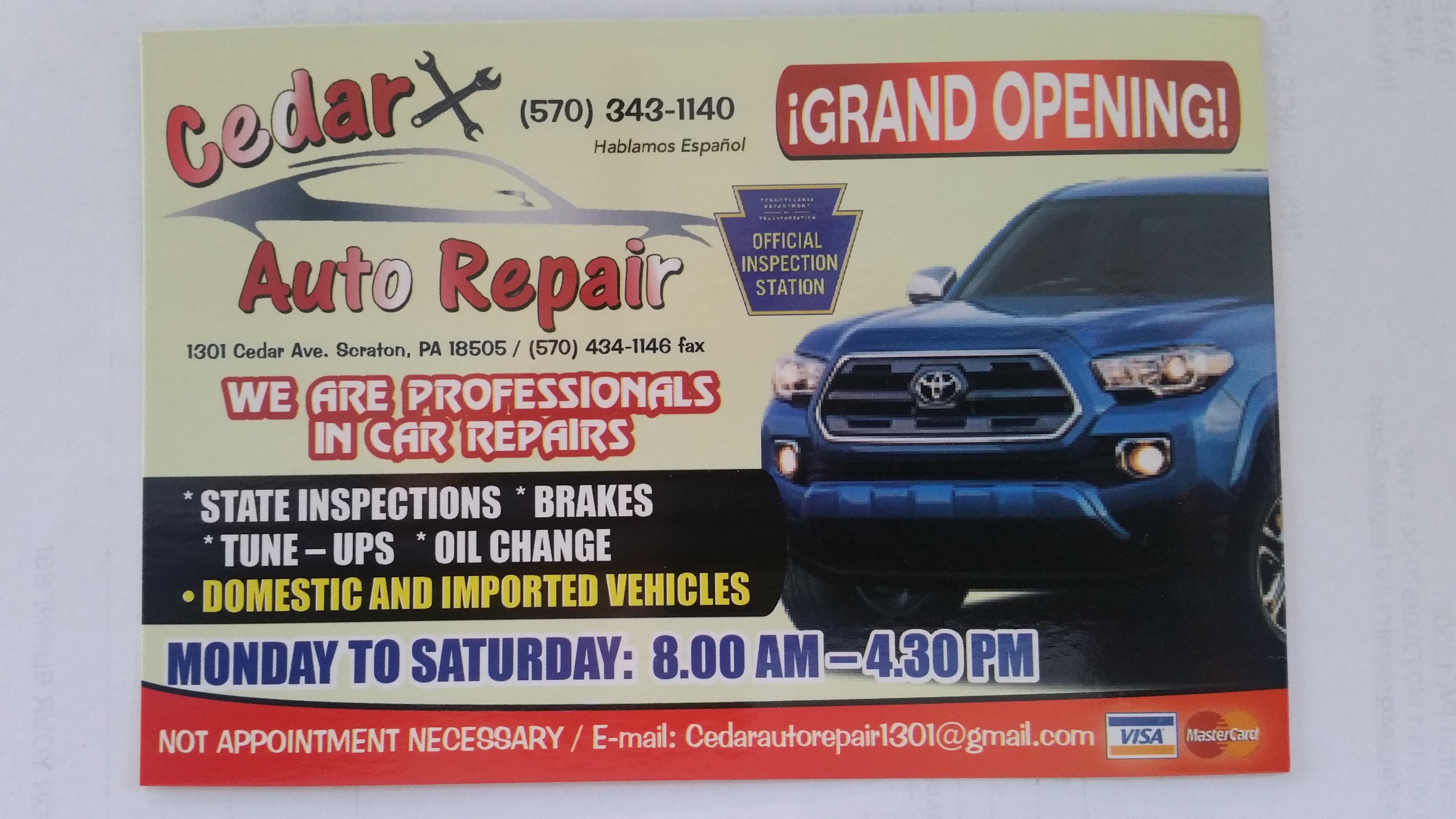 Cedar Auto Repair image 6