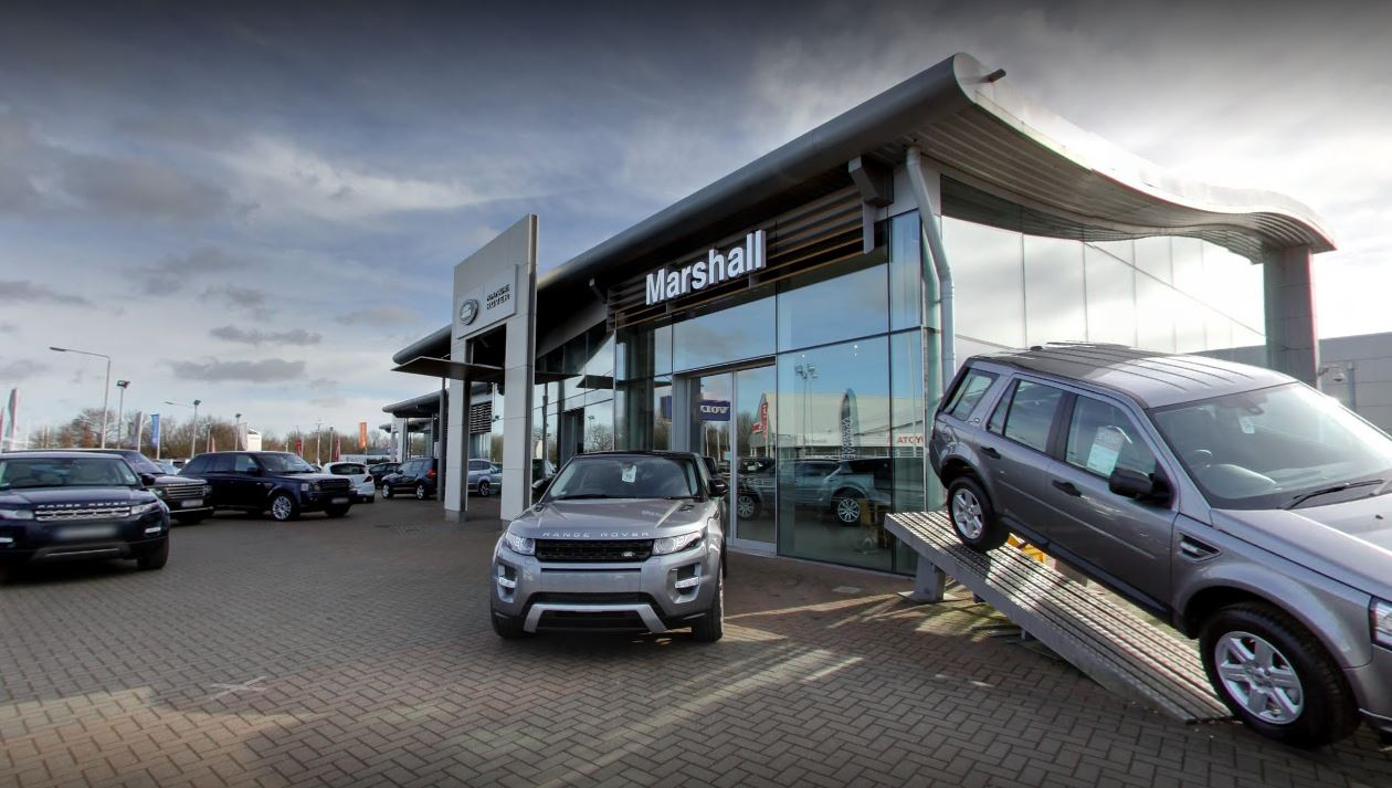 marshall land rover peterborough car dealers new used. Black Bedroom Furniture Sets. Home Design Ideas