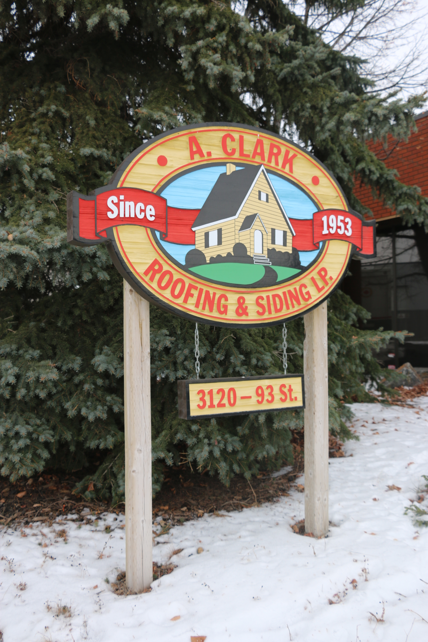 A Clark Roofing And Siding LP in Edmonton