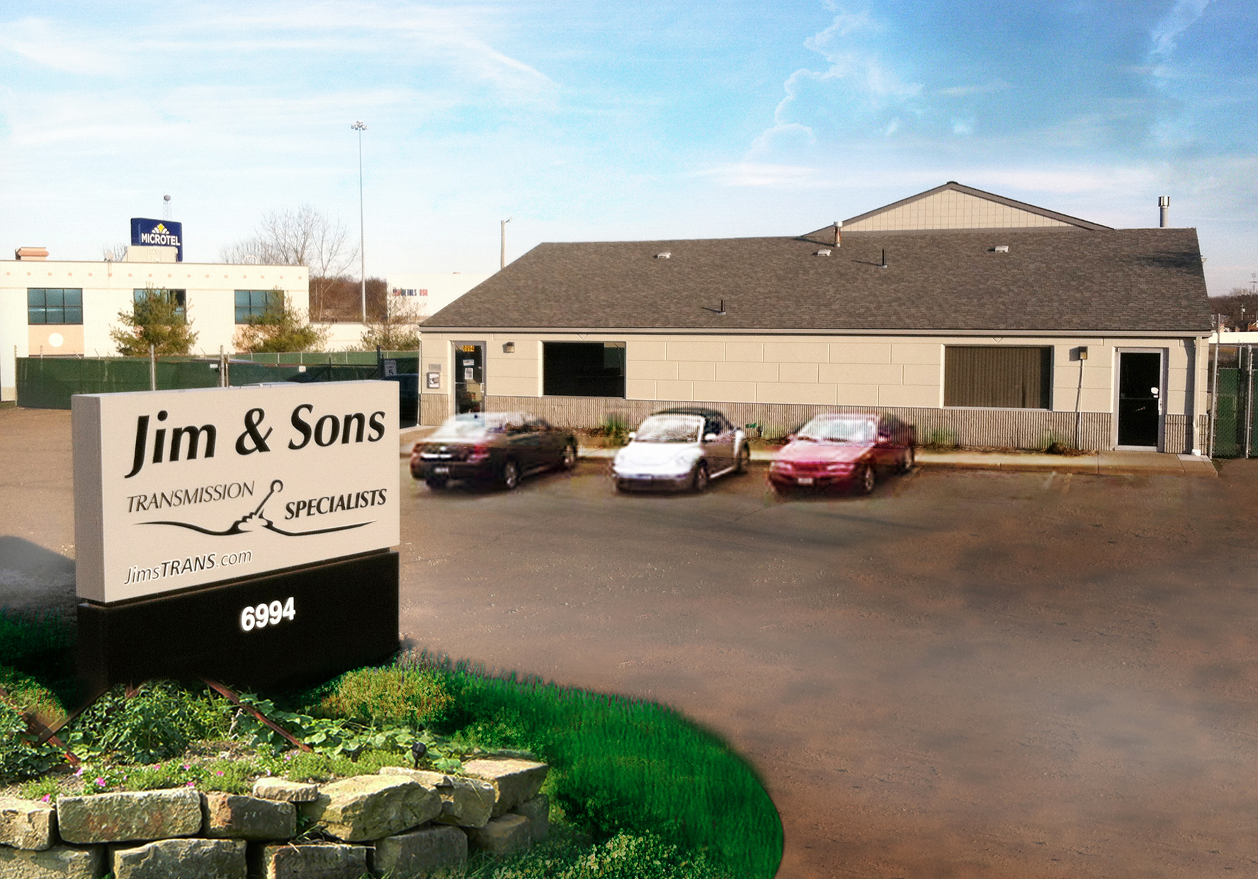 Jim & Sons Transmission Specialist - ad image