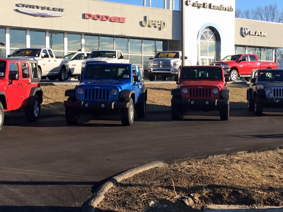 Craig And Landreth Cars >> Craig and Landreth Chrysler Dodge Jeep Ram in Crestwood, KY - (502) 241-6...