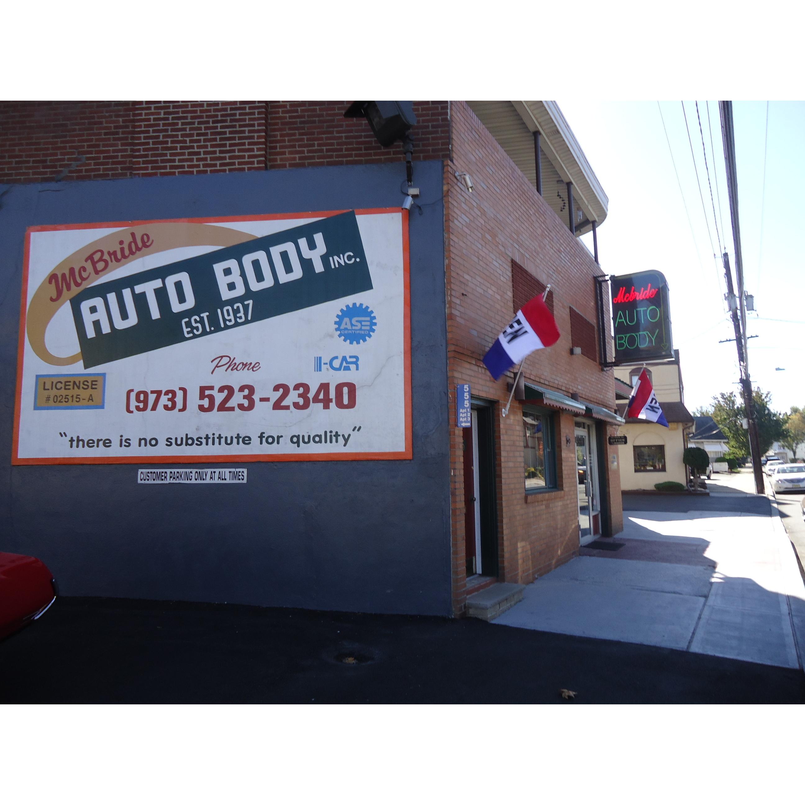 McBride Auto Body Inc.