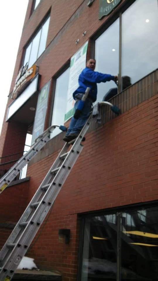 Family window cleaning & property maintenance image 0
