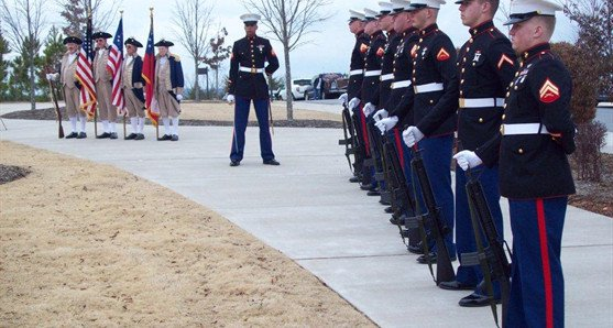 We offer Military funerals and memorials.