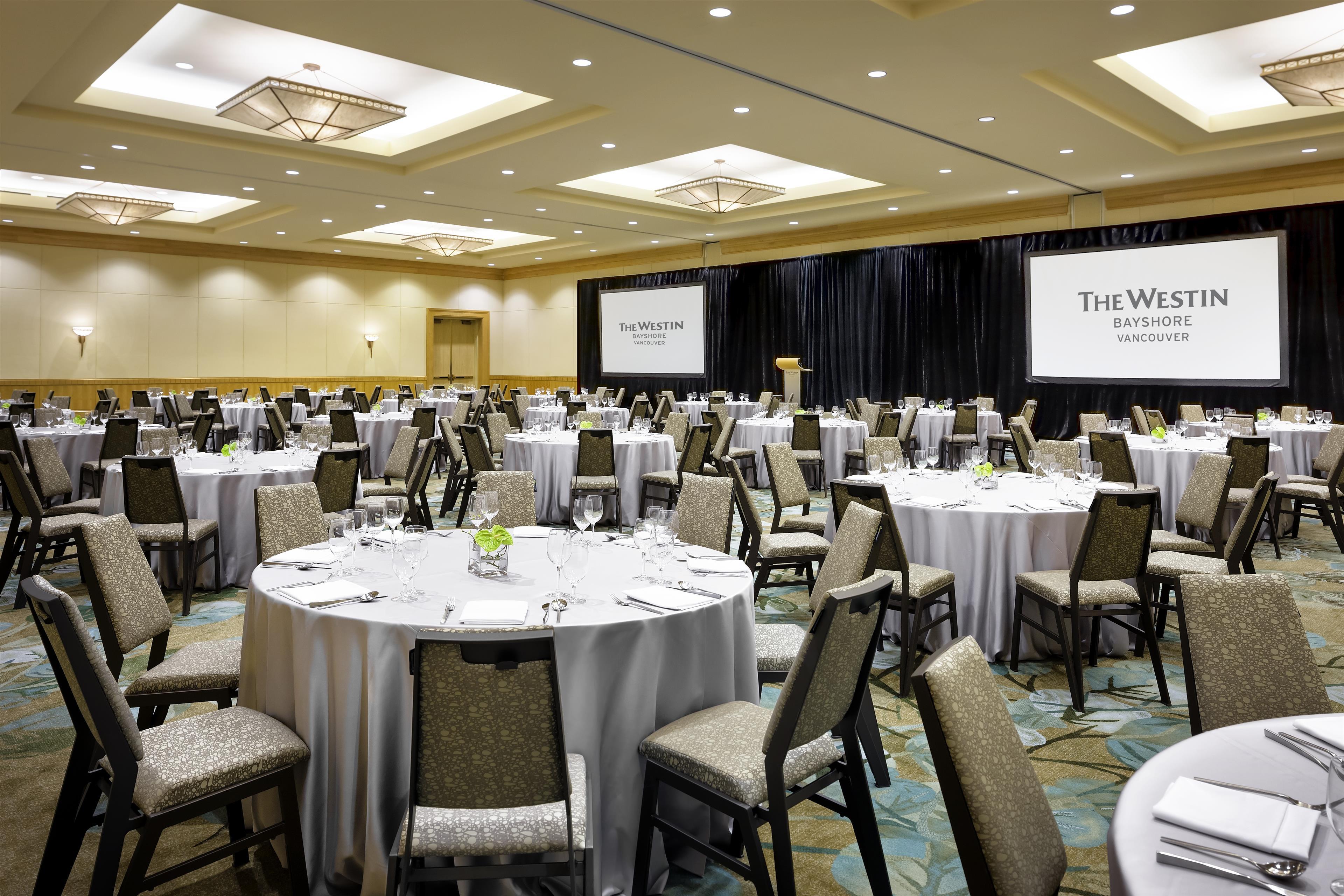 The Westin Bayshore, Vancouver in Vancouver: Stanley Park Ballroom Banquet