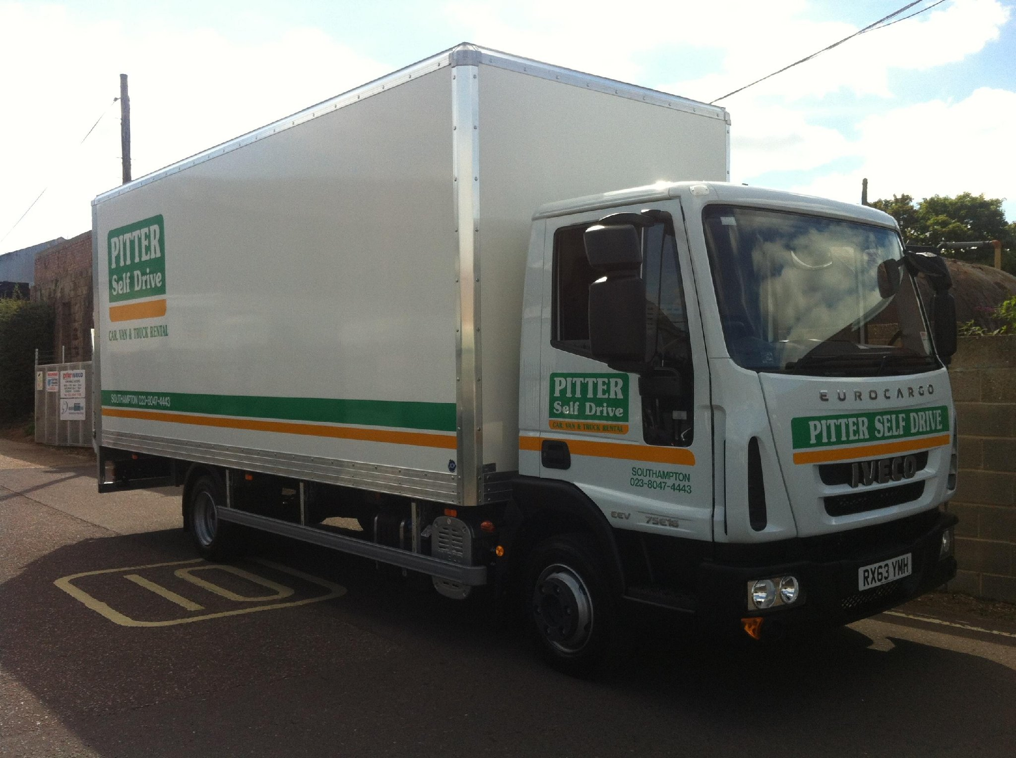 pitter self drive ltd van and truck dealers in. Black Bedroom Furniture Sets. Home Design Ideas