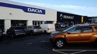 Facing the Renault Edinburgh West dealership