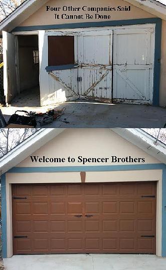 spencer brothers garage doors llc fort collins sheds