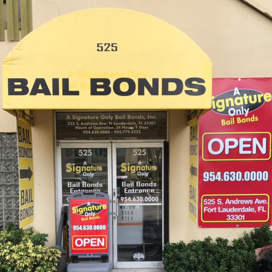 A Signature Only Bail Bonds