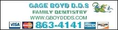 Boyd Gage DDS