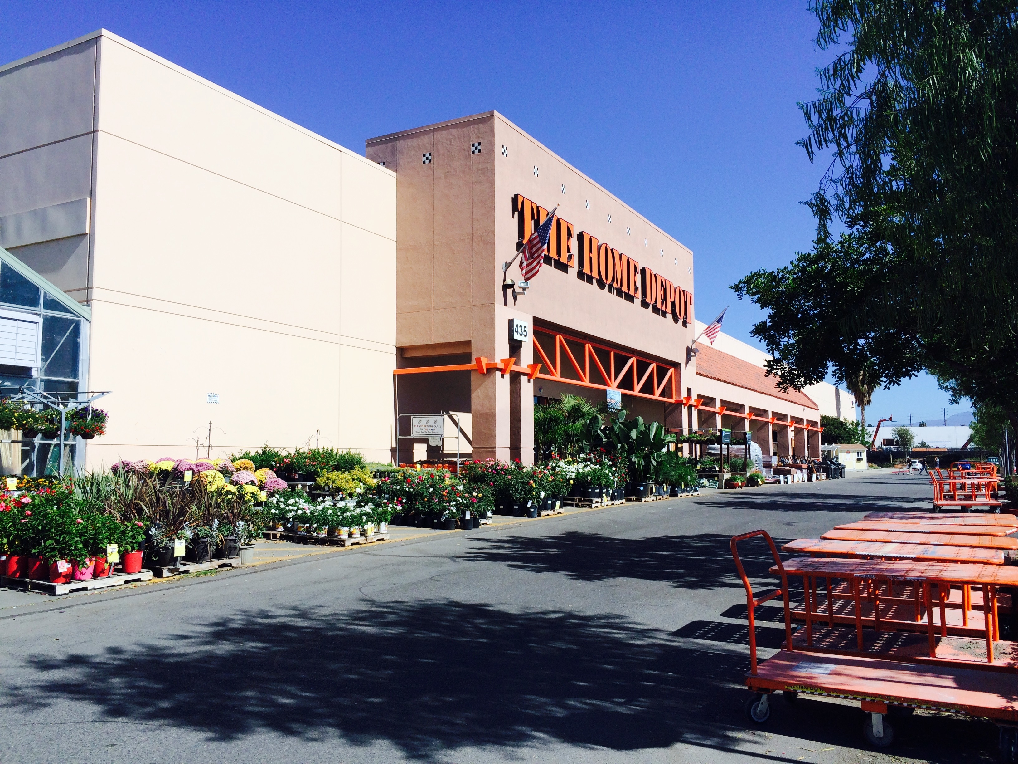 The home depot orange ca business directory for California company directory