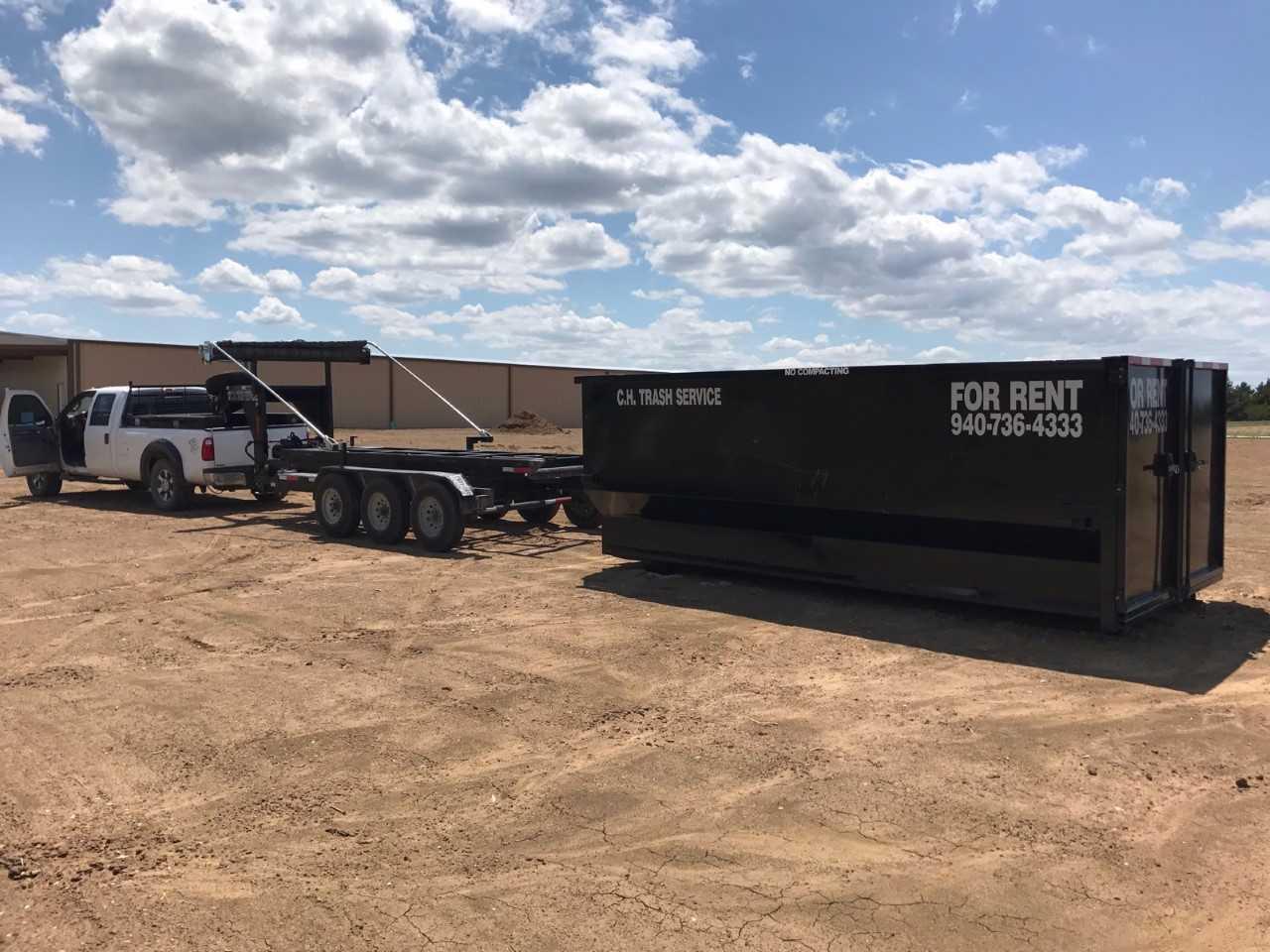 C.H. Trash Service - Dumpster Rental image 1