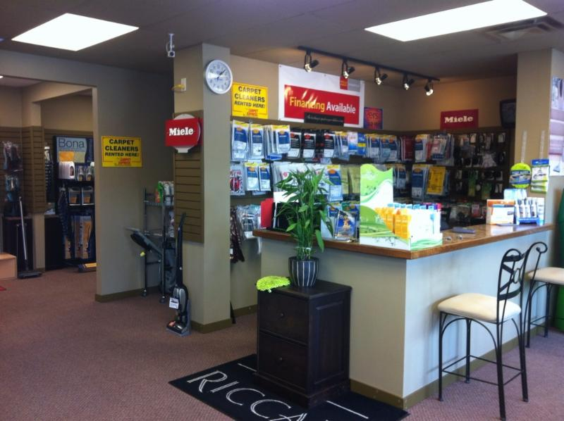 Kelowna Vacuums in Kelowna: Showroom