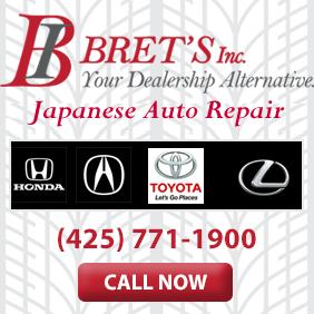 Bret's Inc. - Lynnwood, WA - General Auto Repair & Service