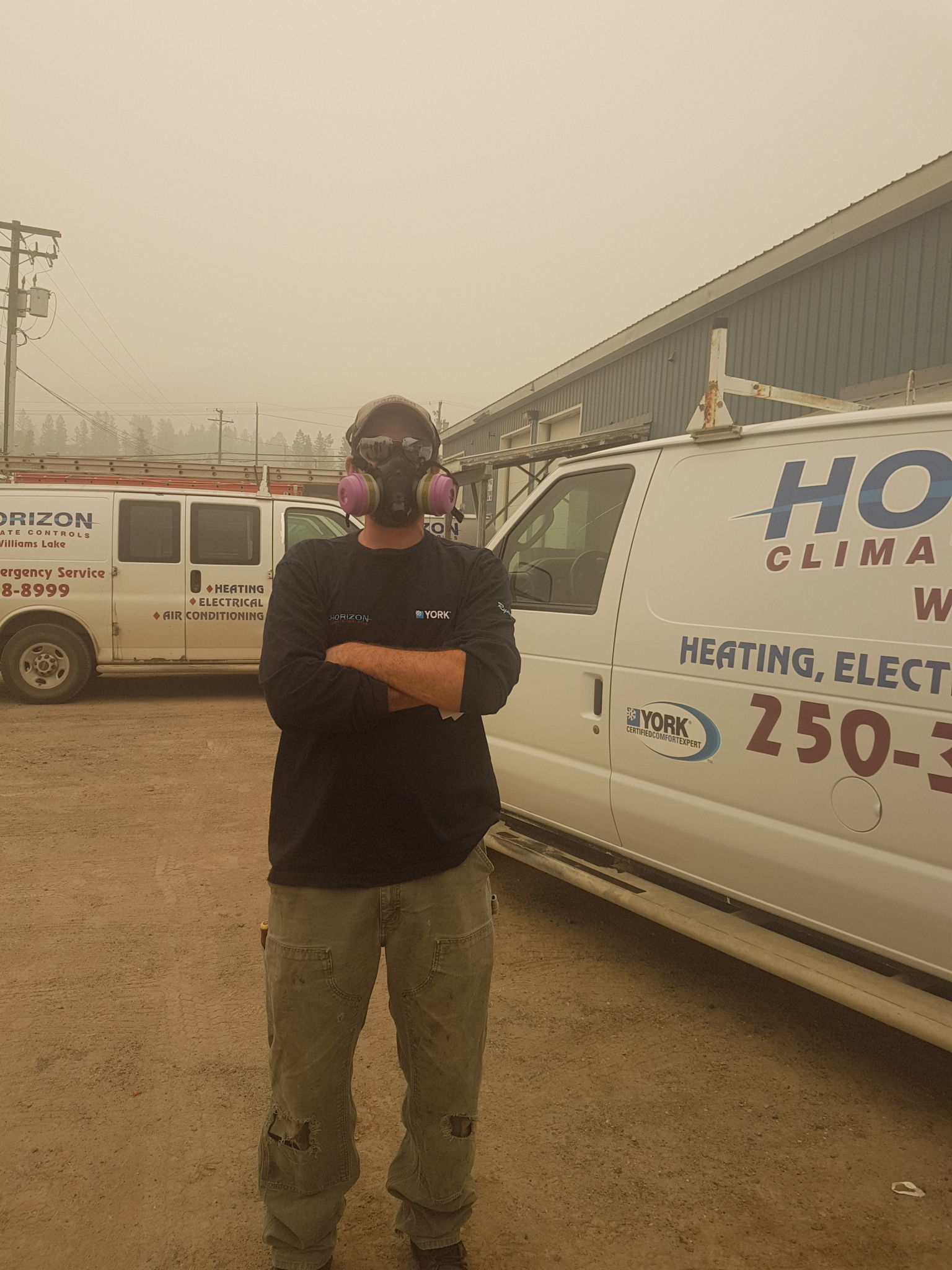 Horizon Climate Controls Ltd in Williams Lake: August 22, 2018 Safety precaution from the foest fires