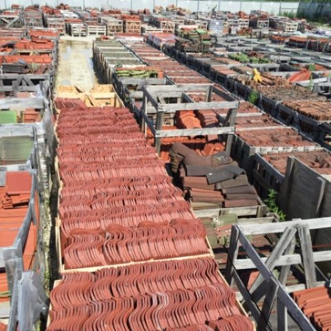New hand finished clay roof tile european roof tile clay tile roofs inc has one of the largest in stock supplies of salvaged and new clay roof tiles in the usa ppazfo