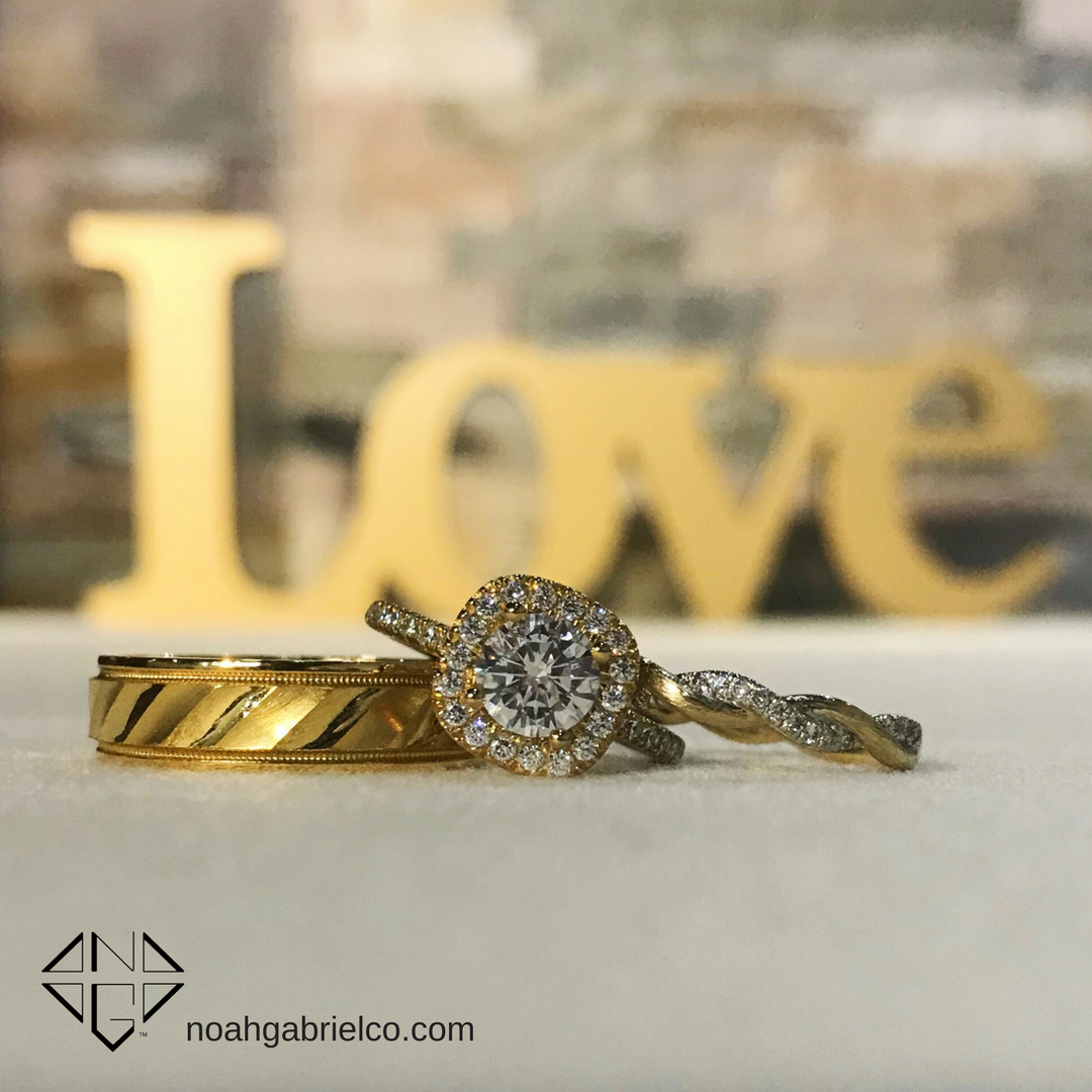 We LOVE #WeddingWednesday! If you're a #NoahGabrielCouple sends us your favorite pic and we may feature you!