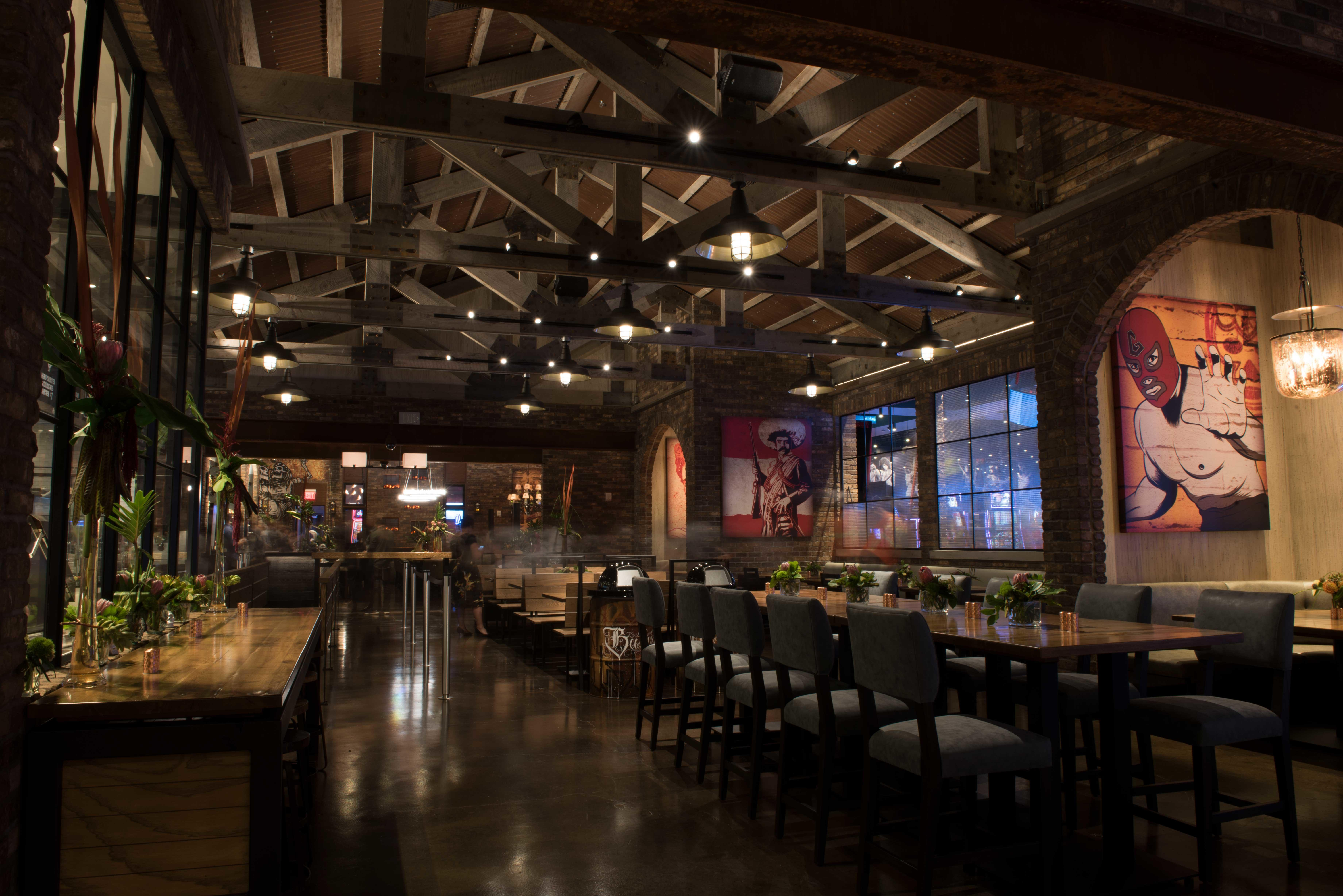 George Lopez's Chingon Kitchen at San Manuel Casino