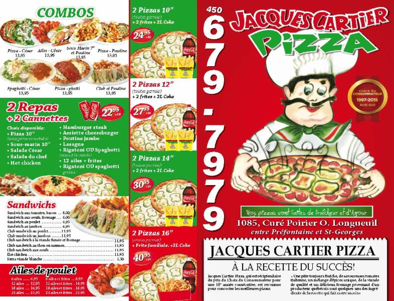 Jacques Cartier Pizza