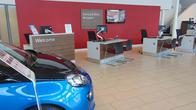 Service and Parts reception at Vauxhall Hull West