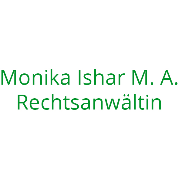 Monika Ishar M. A. Rechtsanwältin