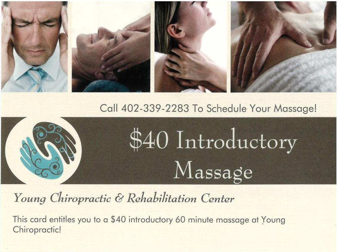 Call 402-339-2283 Today To Schedule Your Massage!!