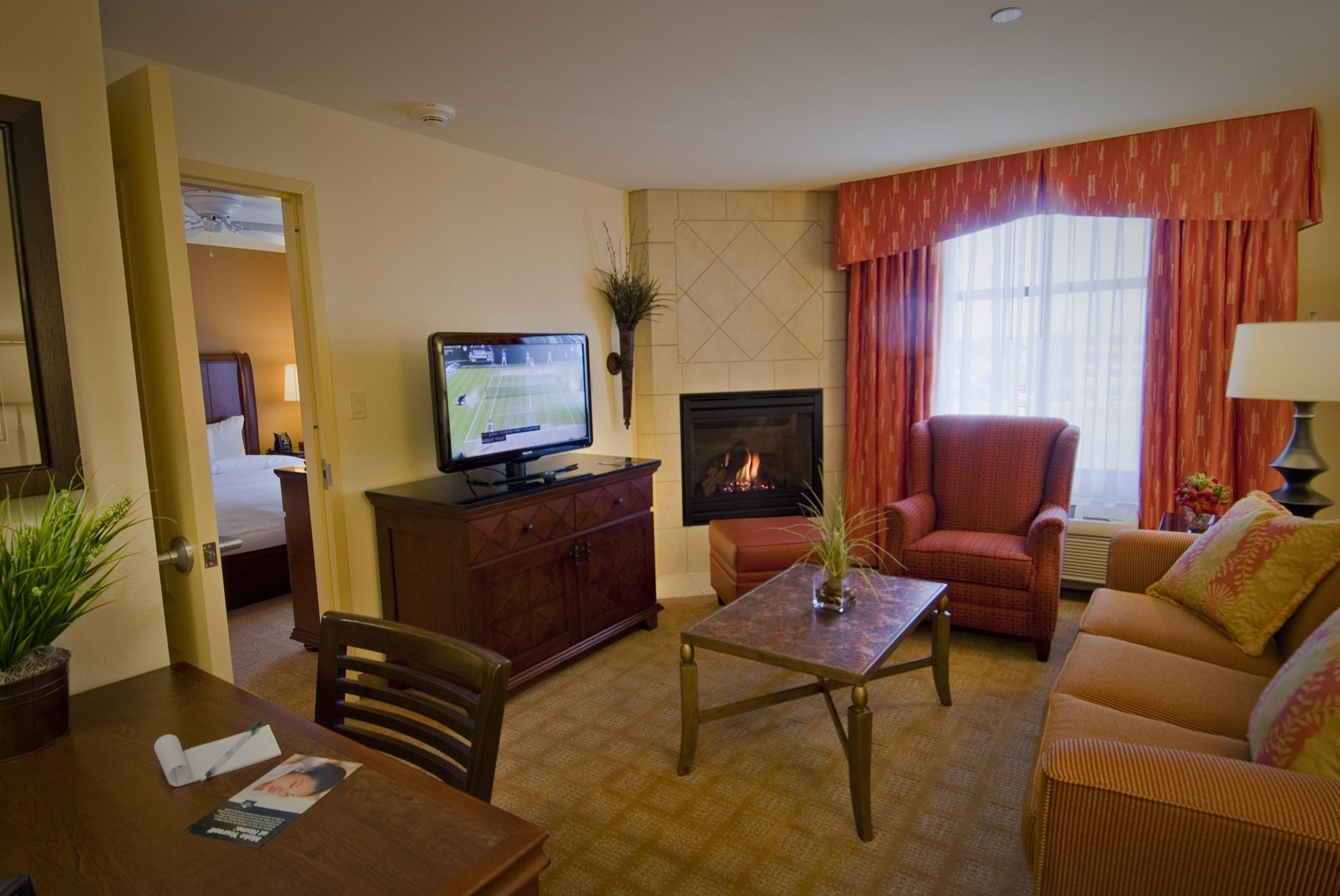 One Bedroom Fireplace Suite
