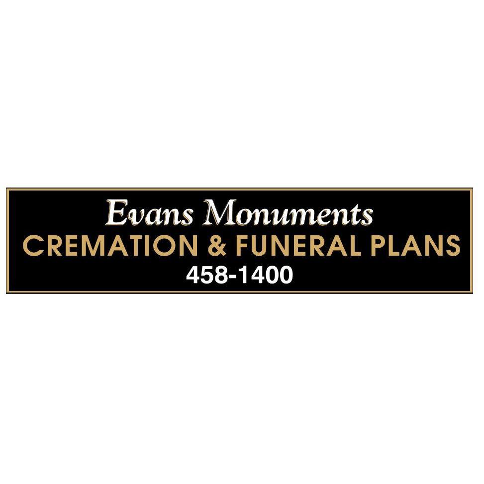 Evans Monuments Cremation & Funeral Plans