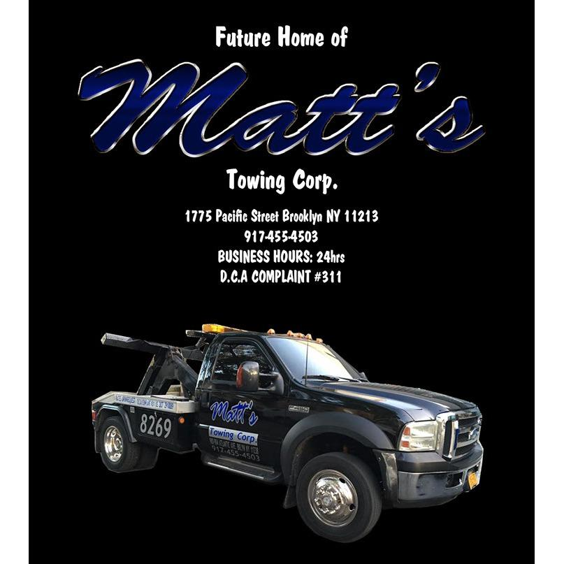 Matt's Towing Corp.