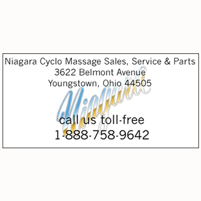 Niagara Cyclo Massage Sales, Service & Parts - Youngstown, OH - Massage Therapists