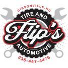 Flips Tire and Automotive Logo