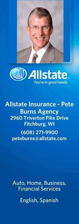 Pete Burns: Allstate Insurance image 1