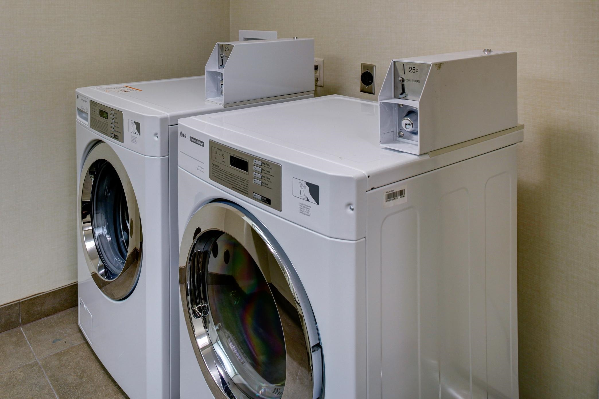 On-site Laundry Station