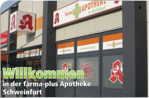 Bild der farma-plus Apotheke im Marktkauf Schweinfurt